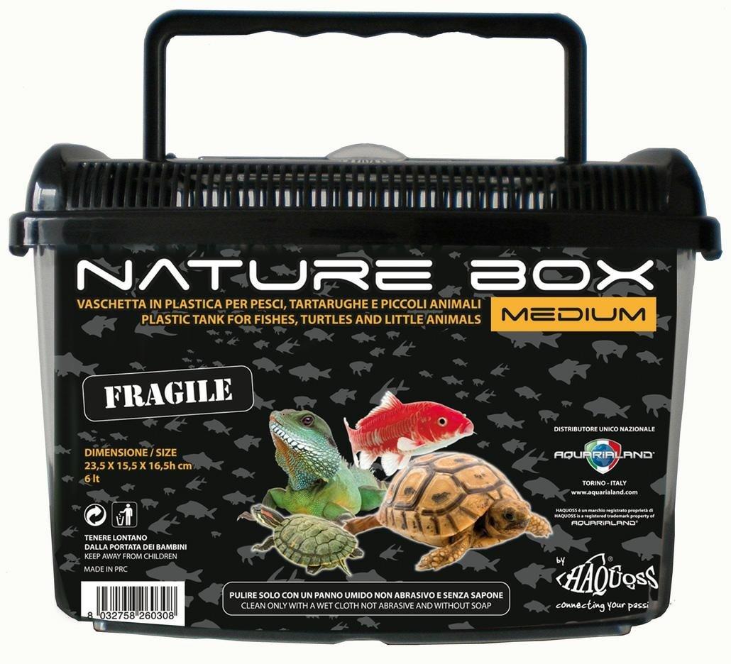 Haquoss nathure box medium vaschette in plastica for Vaschette tartarughe