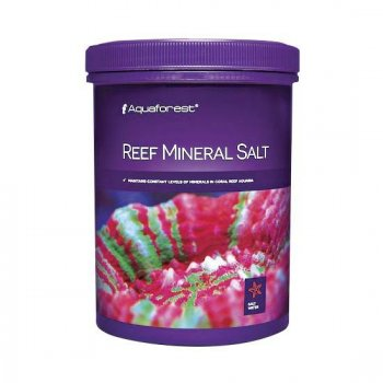 AQUAFOREST - REEF MINERAL SALT 400 - 800gr