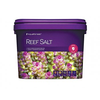 AQUAFOREST - REEF SALT, sale marino per acquario, 5 - 10 - 22kg